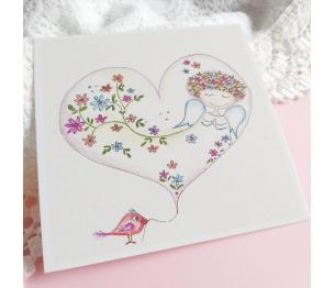 """Atvirukas """"Meilės pilna širdelė"""" 2.1"""