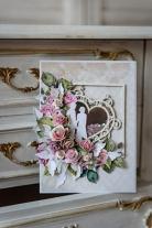 """Atvirukas """"Rožių žiedlapių sveikinimai"""""""