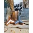 Bangolaužis - nuotraukos laikiklis dekoruotas vario folija