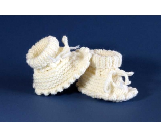 Megzti batukai kūdikiams, balti