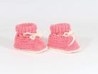 Megzti batukai kūdikiams, rožiniai