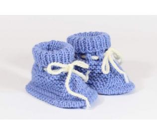 Megzti batukai kūdikiams, šviesiai mėlyni