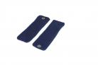 Riešinės tamsiai mėlynos su blizgiu audiniu 1.1