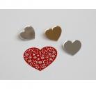 """Segė """"Mažoji širdis"""" aukso spalva"""