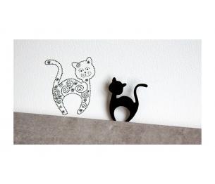 """Segė """"Svajonių katinas"""" juoda spalva"""