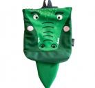 """Vaikiška kuprinė """"Krokodilas"""" S dydis"""