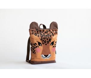 """Vaikiška kuprinė """"Leopardas"""" L dydis"""