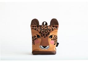 """Vaikiška kuprinė """"Leopardas"""" S dydis"""