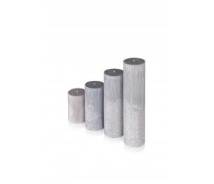 """Žvakė """"Akmuo"""" , cilindro formos"""