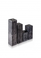 """Žvakė """"Lavos akmuo"""", kvadrato formos"""
