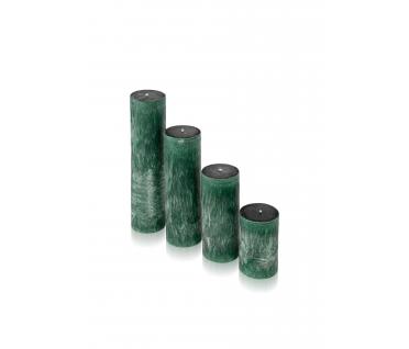 """Žvakė """"Smaragdas"""", cilindro formos"""