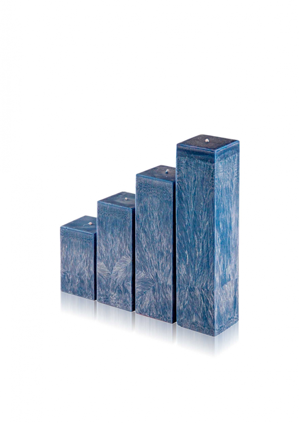 """Žvakė """"Vandenynas"""", kvadrato formos"""